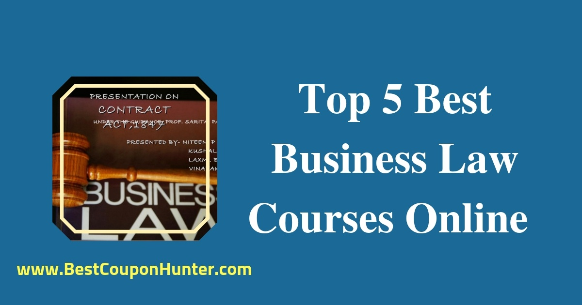 Top 5 Best Business Law Courses Online on Udemy