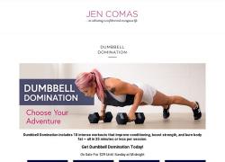 Dumbbell Domination – Jen Comas [Honest Review]