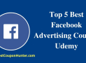 Top 5 Best Facebook Advertising Courses Udemy (Updated 2019)
