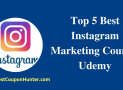 Top 5 Best Instagram Marketing Courses Udemy (Update 2019)
